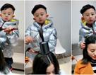 Cậu bé 6 tuổi làm tóc không thua gì thợ chuyên nghiệp khiến dân mạng phát cuồng