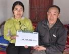 Bạn đọc giúp gia đình em Bùi Thị Huệ hơn 155 triệu đồng