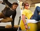 Brad Pitt và Leonardo DiCaprio cùng xuất hiện bảnh bao trên phim trường