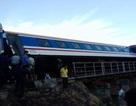 Khắc phục xong sự cố tàu trật bánh, thông tuyến đường sắt Bắc - Nam