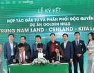Trung Nam Land - Kita Land - CenLand ký kết hợp tác đầu tư và phân phối độc quyền dự án Golden Hills