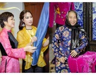 Thảo Vân, Công Lý chúc mừng NTK Vân Trần
