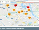 Hà Nội: Chỉ số ô nhiễm không khí ở mức có hại cho sức khoẻ