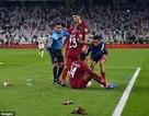"""LĐBĐ châu Á điều tra vụ """"tấn công"""" của CĐV UAE với Qatar"""