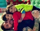 """Messi hài hước kể chuyện bị con trai lên mặt """"dạy dỗ"""" khi thua trận"""