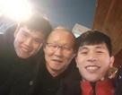 HLV Park Hang Seo thăm Đình Trọng ở Hàn Quốc