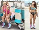 Siêu mẫu ngoại cỡ Ashley Graham rực lửa với bikini