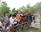 Hàng ngàn lượt người viếng mộ Đại tướng Võ Nguyên Giáp đầu năm mới