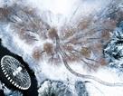 """""""Đẹp lịm tim"""" cảnh sắc trong trẻo ngày tuyết rơi dày như chốn tiên cảnh"""