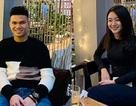Xuân Mạnh U23 Việt Nam công khai bạn gái xinh đẹp đúng ngày Valentine
