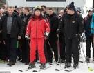 Ông Putin trượt tuyết cùng Tổng thống Belarus