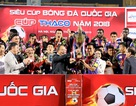 Đánh bại B.Bình Dương, Hà Nội FC giành Siêu Cúp Quốc gia