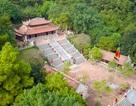 Toàn cảnh đền Chu Văn An trên núi Phượng Hoàng
