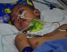Vợ chồng chết lặng trước cảnh con trai đầu chết vì suy tim, con thứ 2 nguy kịch vì u não