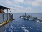 Mỹ - Anh tập trận lần hai trên Biển Đông trong hai tháng
