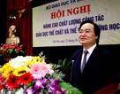 """Bộ trưởng Phùng Xuân Nhạ: """"Toàn ngành giáo dục đẩy mạnh tập thể dục"""""""