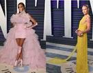 Siêu mẫu bạch biến diện váy sành điệu dự tiệc Oscar
