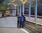 Ga Đồng Đăng tất bật chuẩn bị đón đoàn tàu của Chủ tịch Triều Tiên