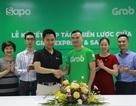 Sapo hợp tác với GrabExpress giao hàng trong 2h