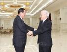 Tổng Bí thư, Chủ tịch nước Nguyễn Phú Trọng hội kiến Thủ tướng Campuchia