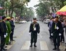 Siết chặt an ninh tại đường Lý Thường Kiệt trước giờ đón Chủ tịch Triều Tiên Kim Jong-un