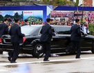 """Những lần """"lá chắn sống"""" bảo vệ ông Kim Jong-un công du nước ngoài"""