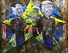 Chiêm ngưỡng tác phẩm hoạ sĩ Việt vẽ chân dung nhà lãnh đạo Mỹ - Triều Tiên