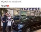 Thủ thành Đặng Văn Lâm thực hiện được mong ước tặng bố xe ôtô