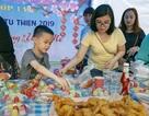 Hà Nội: Học sinh làm giá, bán hoa… để gây quỹ xây trường vùng cao