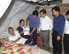 Trao gần 60 triệu đồng đến gia đình bà Lê Thị Thu