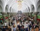 Bên trong hệ thống tàu điện ngầm sâu nhất thế giới của Triều Tiên