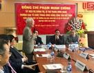 Trưởng ban Tổ chức TƯ Phạm Minh Chính làm việc tại trường ĐH KH Xã hội và Nhân văn