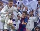 Nổi cáu, chơi xấu với Messi, Sergio Ramos thoát thẻ đỏ
