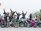 """Quý cô Hà Nội chơi mô tô """"ngầu"""" và """"chất"""" khiến nam nhân phải nể phục"""