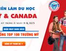 """Săn 5000 học bổng """"khủng"""" tại triển lãm Mỹ & Canada 2019"""