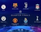 Xác định 8 đội bóng lọt vào tứ kết Champions League