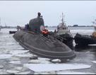 Cận cảnh 2 siêu tàu ngầm hạt nhân sắp gia nhập hải quân Nga