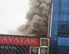 Cháy lớn tổ hợp khách sạn - bar - karaoke, ít nhất 3 người mắc kẹt