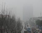 Sương mù dày đặc bao trùm khắp Hà Nội