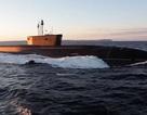"""Video Nga thử nghiệm tàu ngầm """"khủng"""" có thể mang 160 đầu đạn hạt nhân"""
