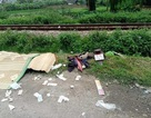 Tàu hỏa đâm 2 phụ nữ đi xe máy tử vong