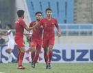 Bị đuổi 1 người, U23 Indonesia giành 3 điểm hú vía trước U23 Brunei