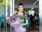 Hoa hậu Hoàn vũ Riyo Mori lần đầu cùng ông xã đến Hà Nội