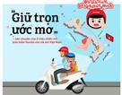 """""""Giữ trọn ước mơ"""" - câu chuyện gần 2 triệu mũ bảo hiểm cho trẻ em Việt Nam"""
