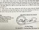 Chánh Thanh tra thành phố Sầm Sơn bị đề nghị kiểm điểm
