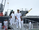 Lực lượng bảo vệ bờ biển Ấn Độ và Việt Nam cùng luyện tập cứu nạn trên biển