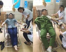 Thanh Hóa: 2 cán bộ Công an hiến máu cứu sản phụ qua cơn nguy kịch