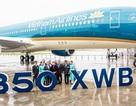 """Vietnam Airlines nhận thêm """"siêu máy bay"""" A350, """"trình làng"""" đội bay hiện đại nhất"""