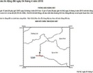 Động đất 3,8 độ richter, nhà cửa rung lắc kèm nhiều tiếng nổ trong lòng đất