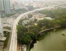 Metro Nhổn - ga Hà Nội thành hình đường trên cao xuyên qua phố phường Thủ đô